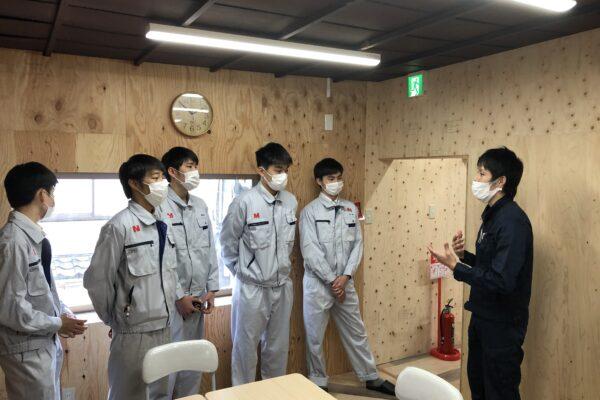 【速報】佐野工科高校のつむぎやリノベーション授業始まります!